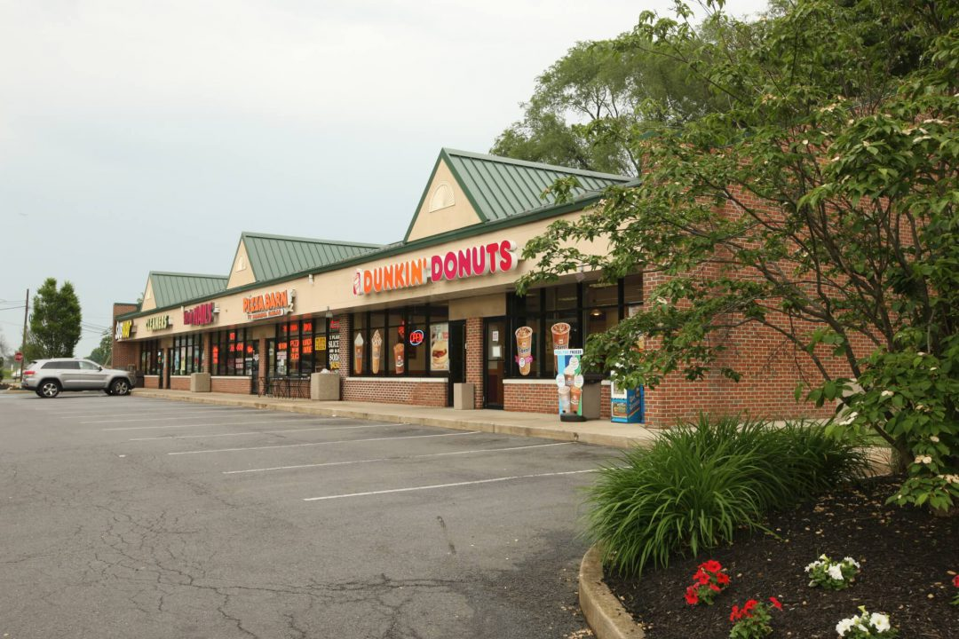 Dunkin Donuts and stores